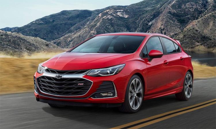 Chevrolet Cruze đã ngừng sản xuất và chỉ còn bán ra tại một số thị trường nhất định. Ảnh: Chevrolet