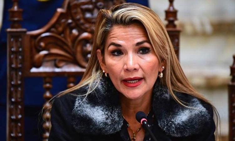 Tổng thống lâm thời Bolivia Jeanine Anez
