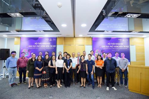 Hội thảo với nhiều chuyên gia giáo dục trong nước, quốc tế tham dự