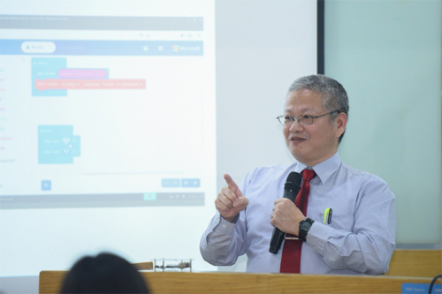 Ông Victor T.S. Horng, Giám đốc cấp cao, Tập đoàn Công nghệ Hon Hai, Đài Loan