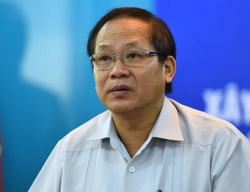 Bộ trưởng Thông tin Truyền thông Trương Minh Tuấn thời đương chức. Ảnh: Giang Huy