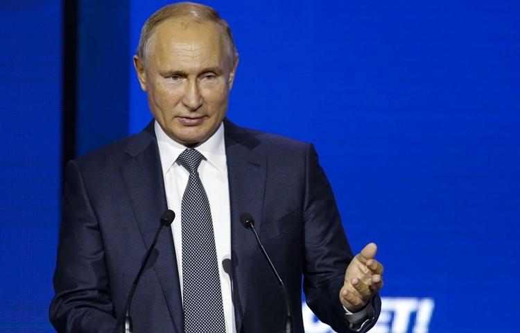 Putin nói Mỹ tự bắn vào chân khi trừng phạt Nga - ảnh 1