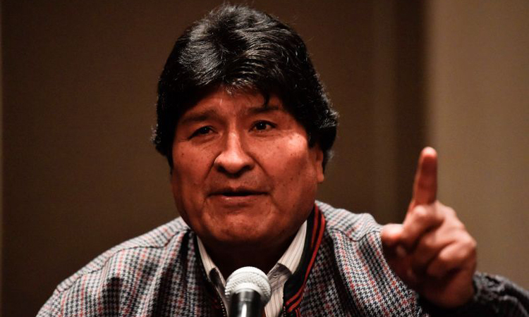 Morales tiếp tục trò chơi quyền lực ở Bolivia - ảnh 2