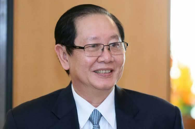 Ông Lê Vĩnh Tân, Bộ trưởng Nội vụ - cơ quan chủ trì soạn thảo dự án Luật sửa đổi, bổ sung một số điều của Luật Tổ chức Chính phủ và Luật Tổ chức chính quyền địa phương. Ảnh: Ngọc Thắng