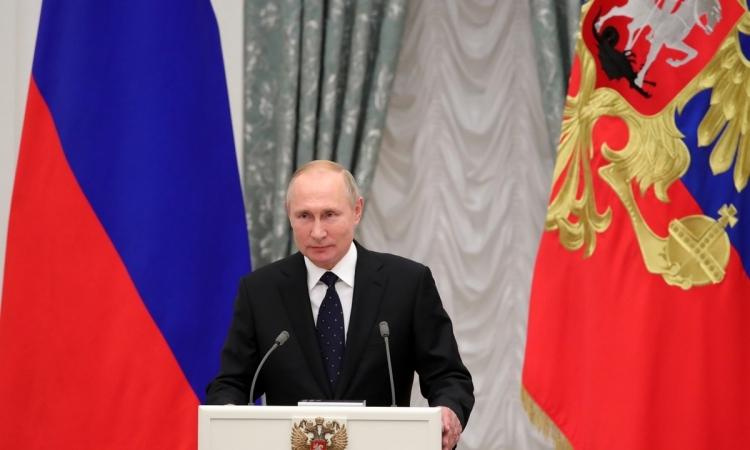 Putin truy tặng 5 chuyên gia trong vụ nổ căn cứ quân sự - ảnh 1