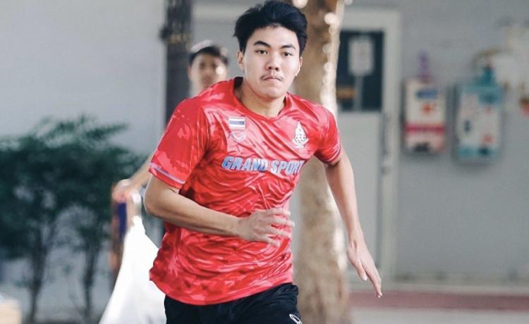 Peerawat Akkatam được triệu tập bổ sung cho U22 Thái Lan.