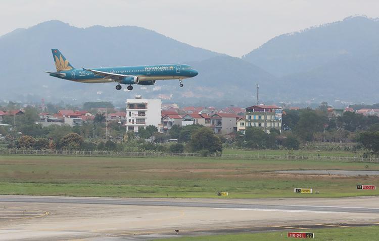 Khu vực sân bay Nội Bài. Ảnh: Ngọc Thành