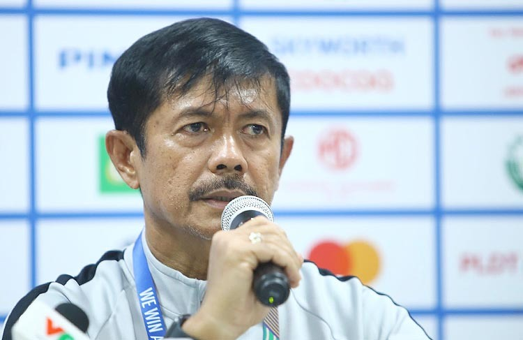 HLV Indra Syafri chia sẻ sau khi Indonesia đánh bại Thái Lan 2-0 tại SEA Games 30, chiều 26/11.