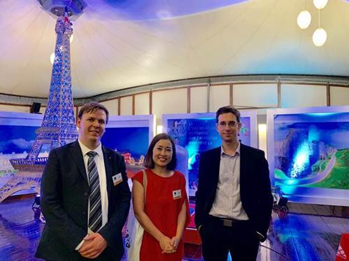 Giám đốc Campus France và chuyên viên tư vấn du học Pháp tại Cầu Xanhtừng du học Pháp, đạt học bổng của đại sứ quán Pháp.