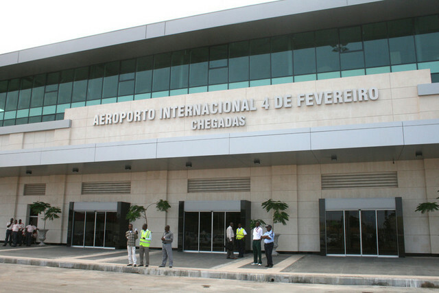 Sân bay quốc tế ở Luanda, thủ đô của Angola. Ảnh: ANGOP