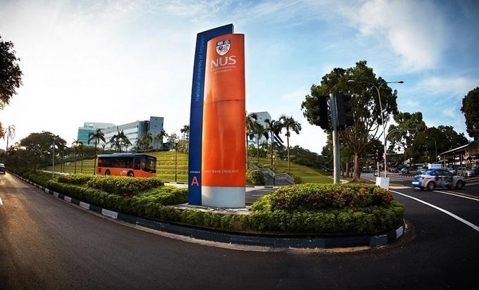Một góc khuôn viên Đại học Quốc gia Singapore. Ảnh: Kings College London