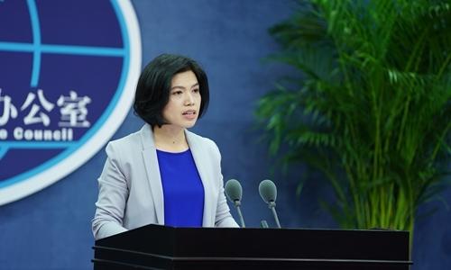 Zhu Fenglian, phát ngôn viên Văn phòng sự vụ Đài Loan của Trung Quốc. Ảnh: VCG.