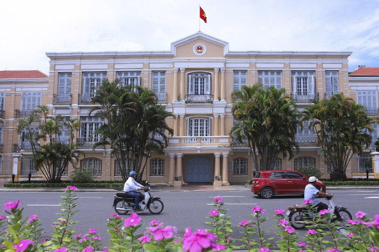 Toà nhà cổ ở 42 Bạch Đằng sẽ là không gian trưng bày chính của Bảo tàng. Ảnh: Nguyễn Đông.