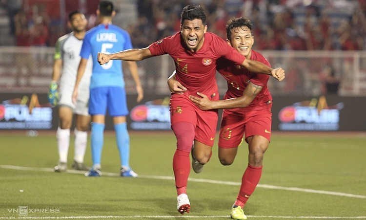 Indonesia toàn thắng hai trận đầu SEA Games 30. Ảnh: Đương Phạm.