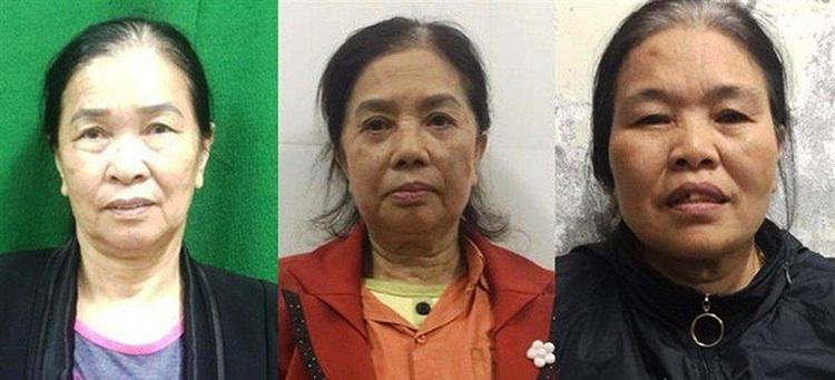 Ba phụ nữ sản xuất giấy khám sức khỏe giả - ảnh 1
