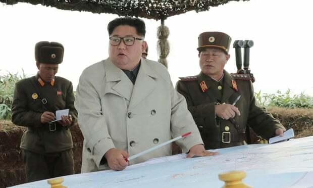Kim Jong-un thị sát cơ sở quân sự tại Changrin ngày 25/11. Ảnh: KCNA.