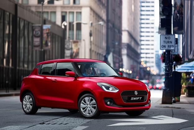 Suzuki Swift có thiết kế châu Âu.