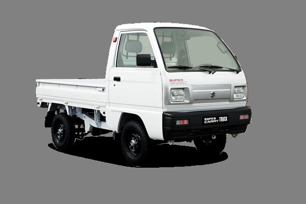 Suzuki Super Carry là mẫu xe tải nhẹ quen thuộc trong thành phố.