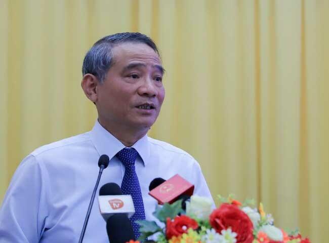 Bí thư Thành ủy Đà NẵngTrương Quang Nghĩa. Ảnh: Nguyễn Đông.