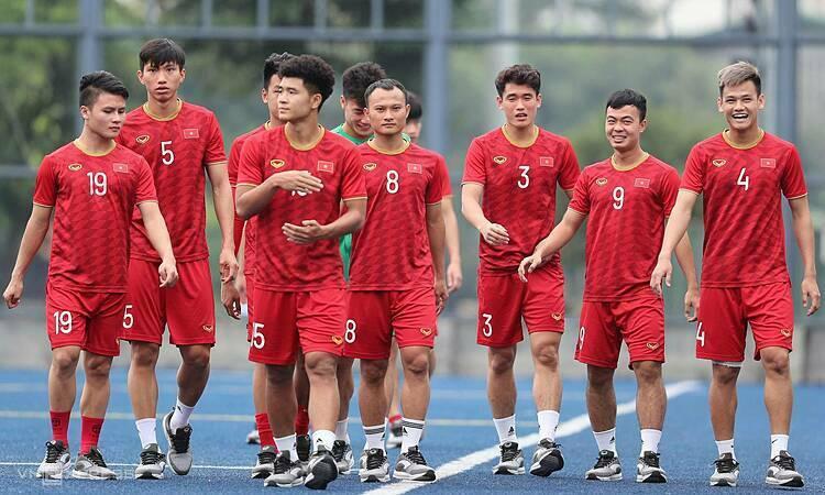 Việt Nam vừa thắng nghẹt thở Indonesia ở lượt trận thứ ba. Ảnh: Đức Đồng.