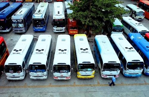 Loại xe K29 được lựa chọn làm xe buýt tuyến Huế - Đà Nẵng. Ảnh: T .H