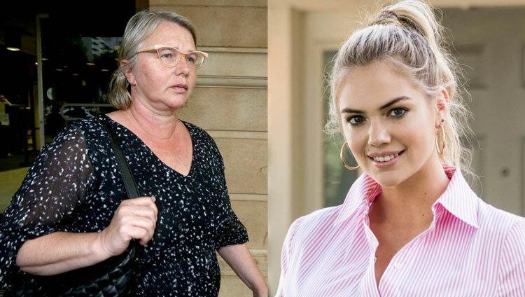 Veronica Theriault (trái) dùng ảnh người mẫu Kate Upton làm ảnh đại diện. Ảnh: Newcastle Herald/Houzz.