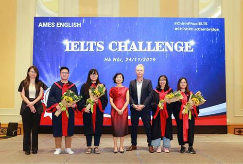 Học viên8.0 IELTS tại AMES English.