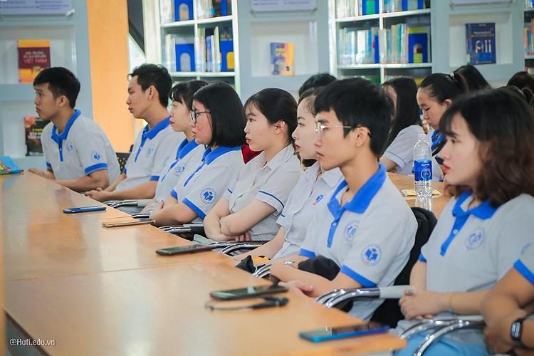 Sinh viên Đại học Công nghiệp Thực phẩm TP HCM. Ảnh: HUFI.