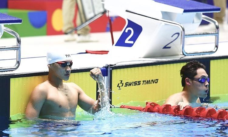 Thanh Bảo có khả năng cạnh tranh HC Vàng 200m ếch. Ảnh: Phạm Đương.