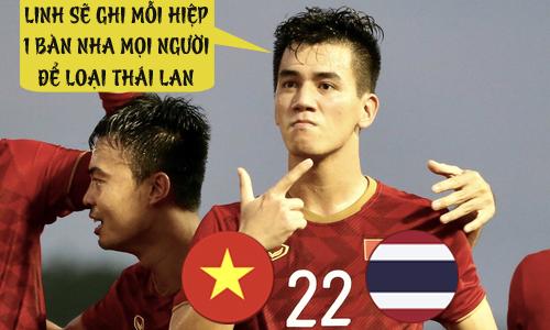 Tiến Linh đã tiễn Thái Lan như thế đó.