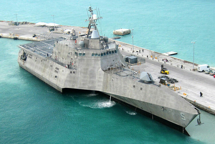 Tàu chiến đấu ven biển USS Independence của hải quân Mỹ. Ảnh: US Navy.