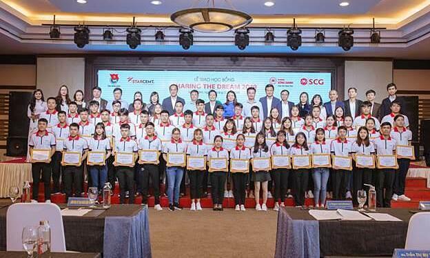 Học bổng SCG Sharing The Dream tiếp sức giới trẻ