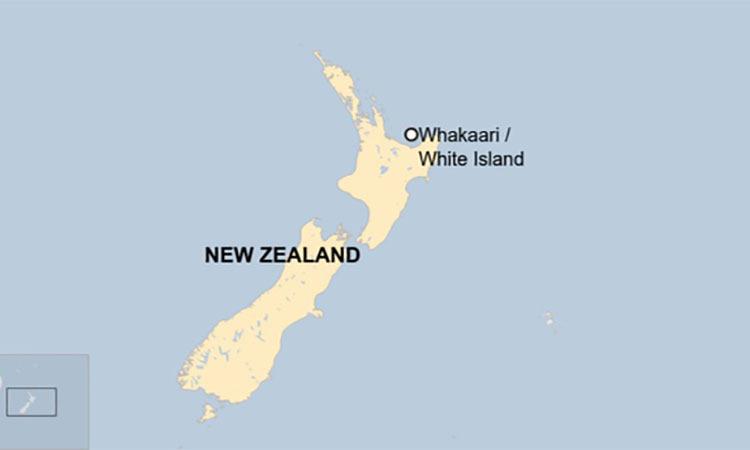 Núi lửa New Zealand phun trào, một người chết - ảnh 2