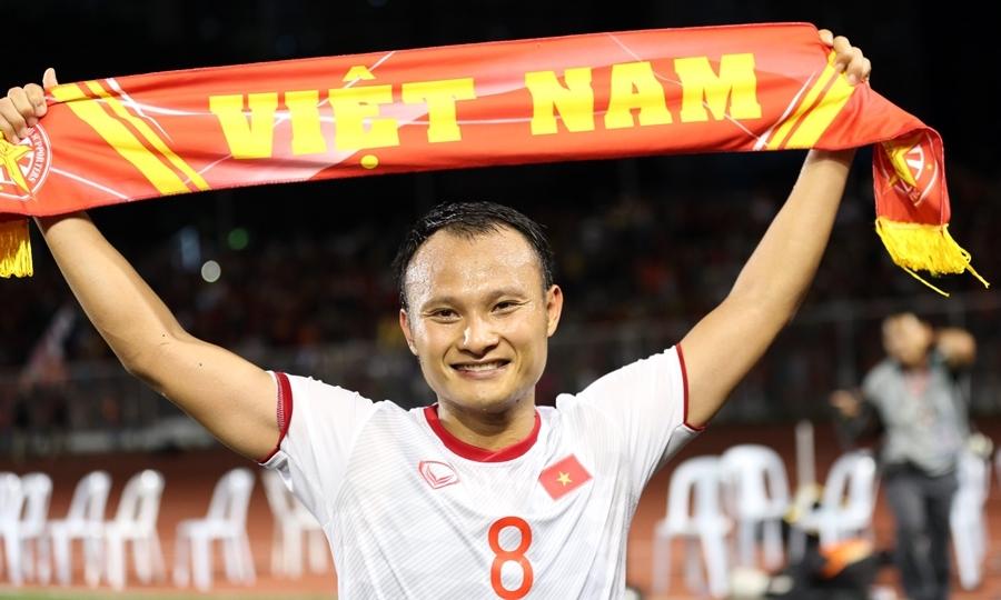 Cầu thủ Việt Nam công kênh HLV Park Hang-seo