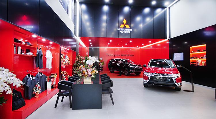 Showroom mới của Mitsubishi với chuẩn nhận diện Big City.