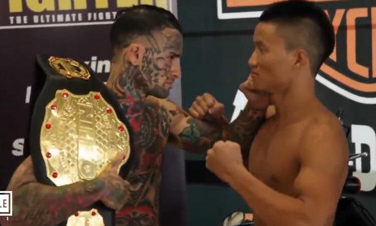Mang đai vô địch ra oai, đối thủ bị võ sĩ gốc Việt hạ trong 25 giây -
