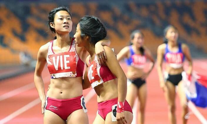 Điền kinhmang về nhiều HC vàng nhất cho Việt Nam ở SEA Games 30, với 16 HC vàng. Ảnh: Quang Huy.