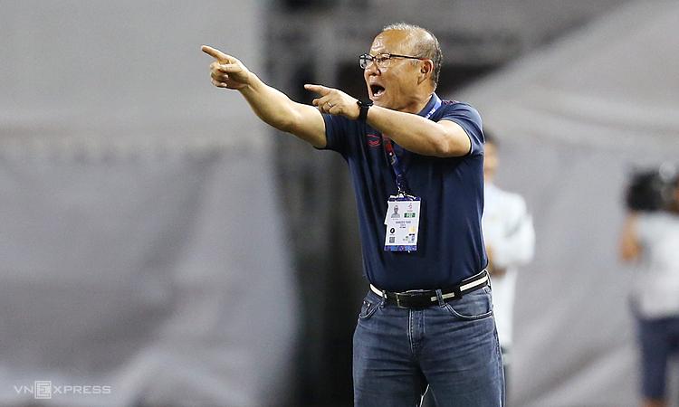 HLV Park được kỳ vọng mang về HC vàng đầu tiên cho Việt Nam ở môn bóng đá nam SEA Games. Ảnh: Đức Đồng.