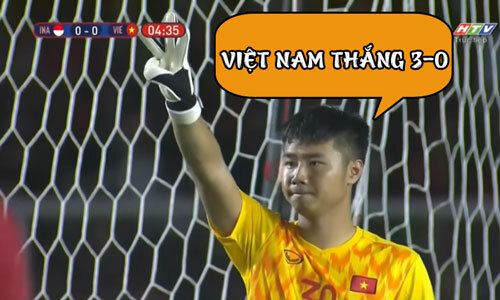 Thủ thành Việt Nam đoán quá chuẩn.
