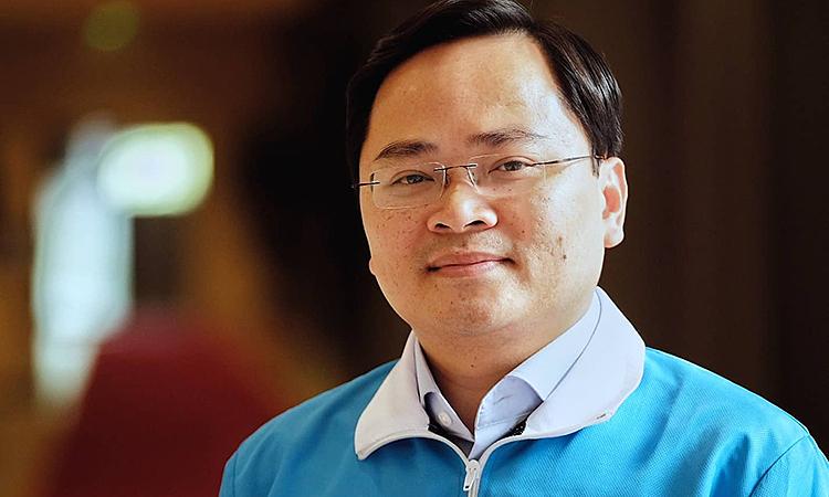 Anh Nguyễn Anh Tuấn làm Chủ tịch Hội Liên hiệp Thanh niên Việt Nam