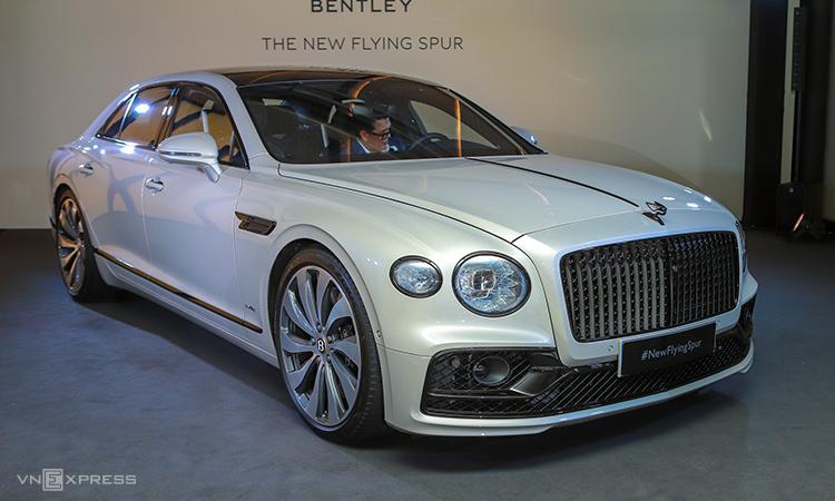 Bentley Flying Spur mới chào châu Á Thái Bình Dương