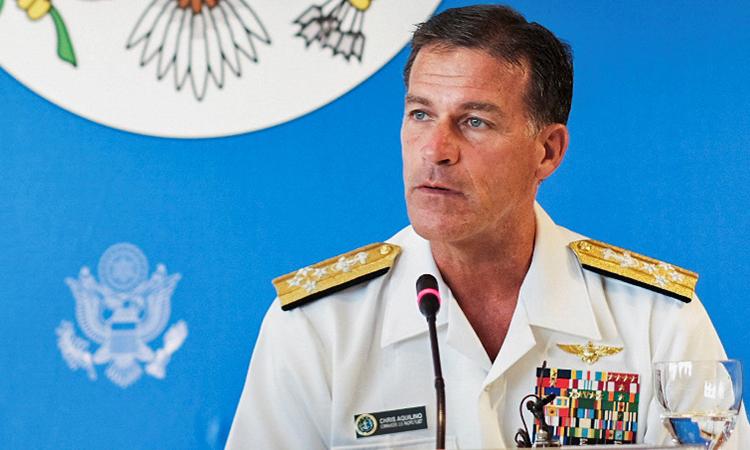 Tư lệnh Mỹ chỉ trích Trung Quốc quân sự hóa Biển Đông - ảnh 1