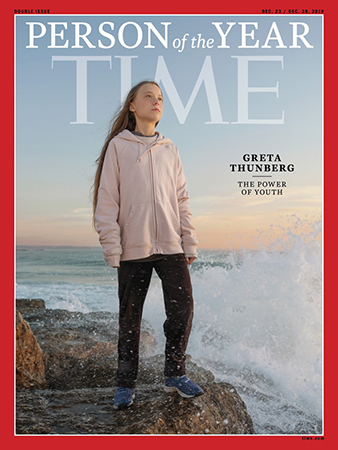 Thunberg đáp trả Trump - ảnh 1