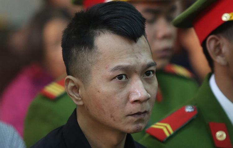 Bị can Vương Văn Hùng. Ảnh: Phạm Dự.