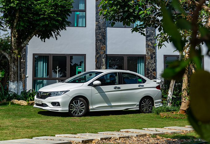 Honda City, sedan hạng B cho đô thị