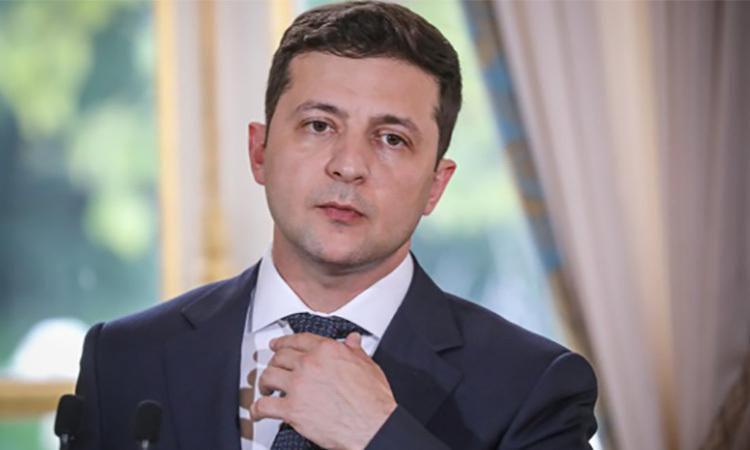 Truyền hình Nga cắt chương trình hài của Tổng thống Ukraine - ảnh 1