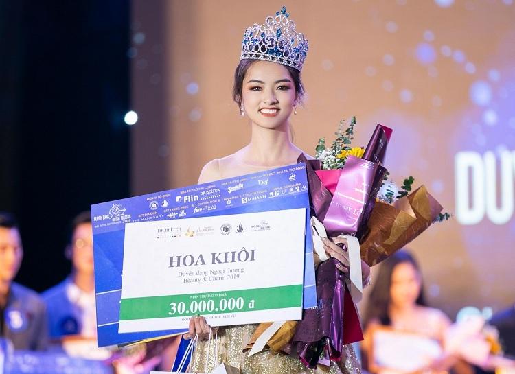Nữ sinh Thái Nguyên là hoa khôi Ngoại thương 2019 - ảnh 1