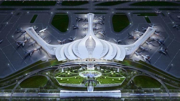 Phối cảnh sân bay Long Thành. Ảnh: Bộ Giao thông Vận tải