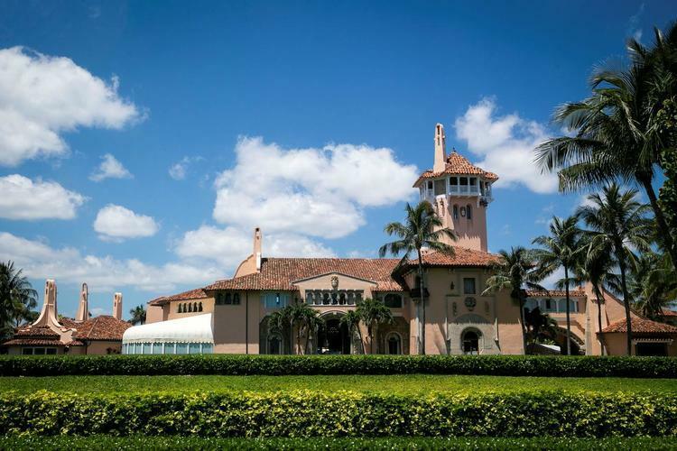 Khu nghỉ dưỡng Mar-a-Lago ở Palm Beach, bang Florida, của Tổng thống Mỹ Donald Trump. Ảnh: Reuters.