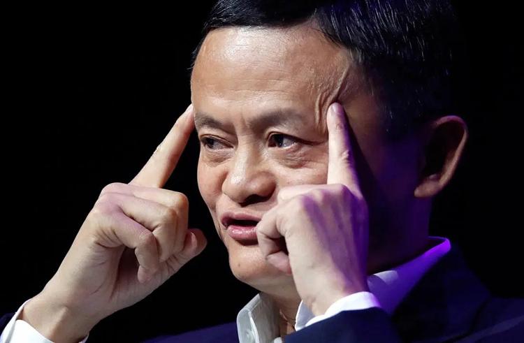 Tỷ phú Trung Quốc Jack Ma. Ảnh: Reuters.